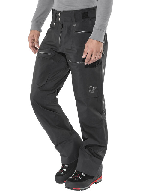 Norrøna Lofoten Gore-Tex Pro Light - Pantalones de Trekking Hombre - negro
